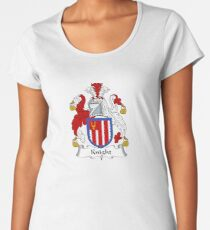 Camiseta premium para mujer Knight Coat of Arms - Family Crest Shirt