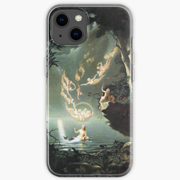 Oberon and the Mermaid - Douglas Harvey iPhone Soft Case