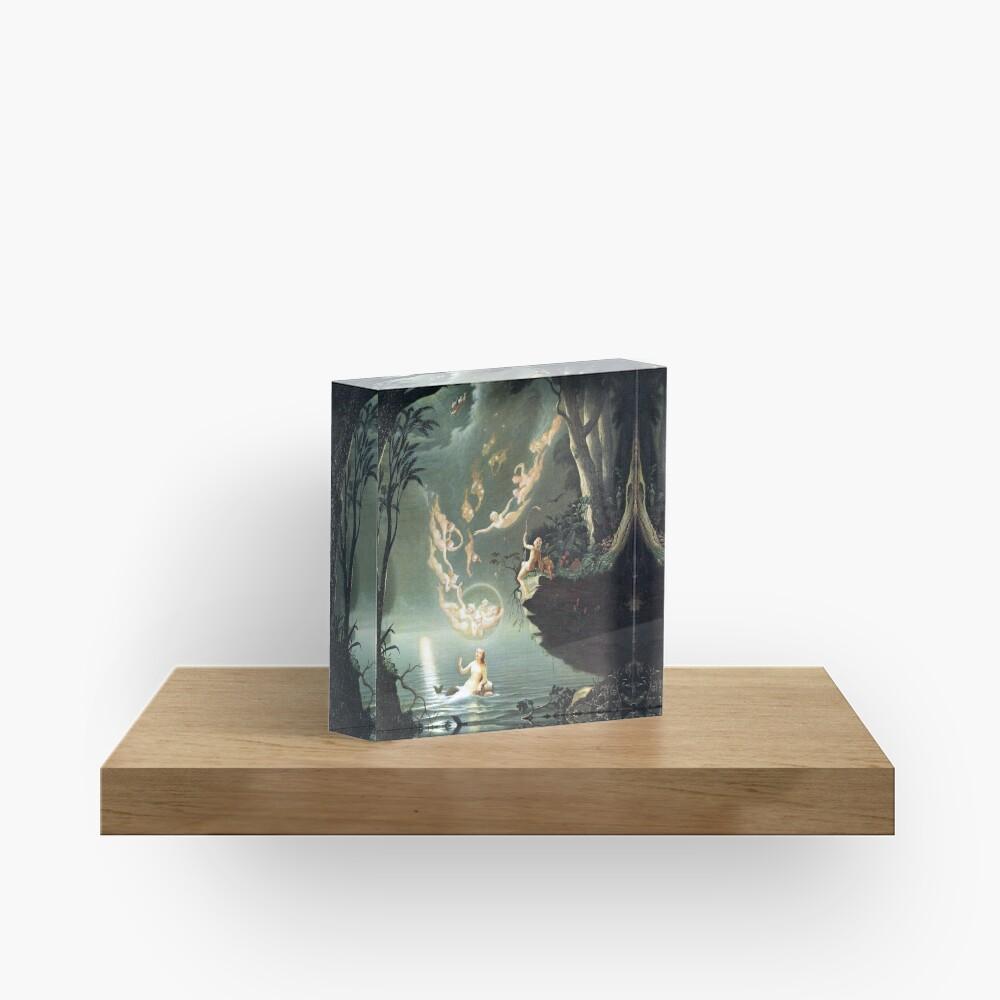Oberon and the Mermaid - Douglas Harvey Acrylic Block