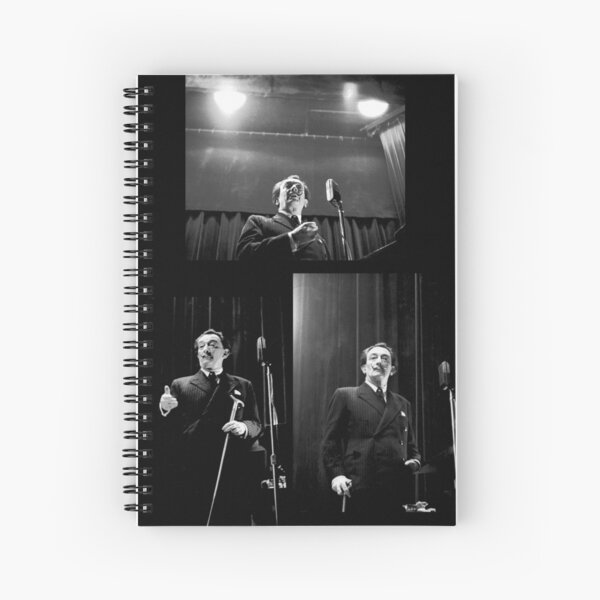 Dali Triptych  at Columbia University Spiral Notebook