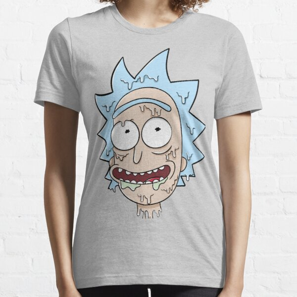 Melted Rick Essential T-Shirt