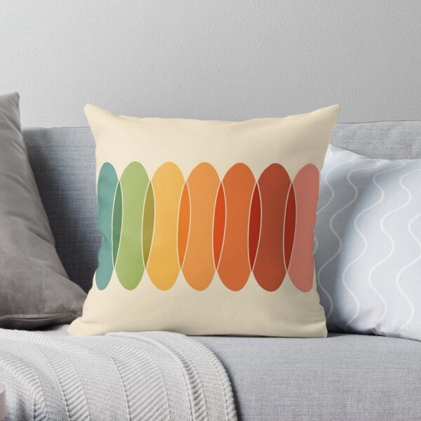 Chromatic Horizontal Throw Pillow