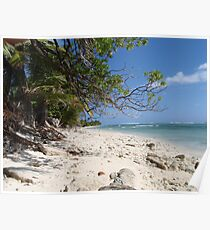 Beachscape - Cocos Island Poster