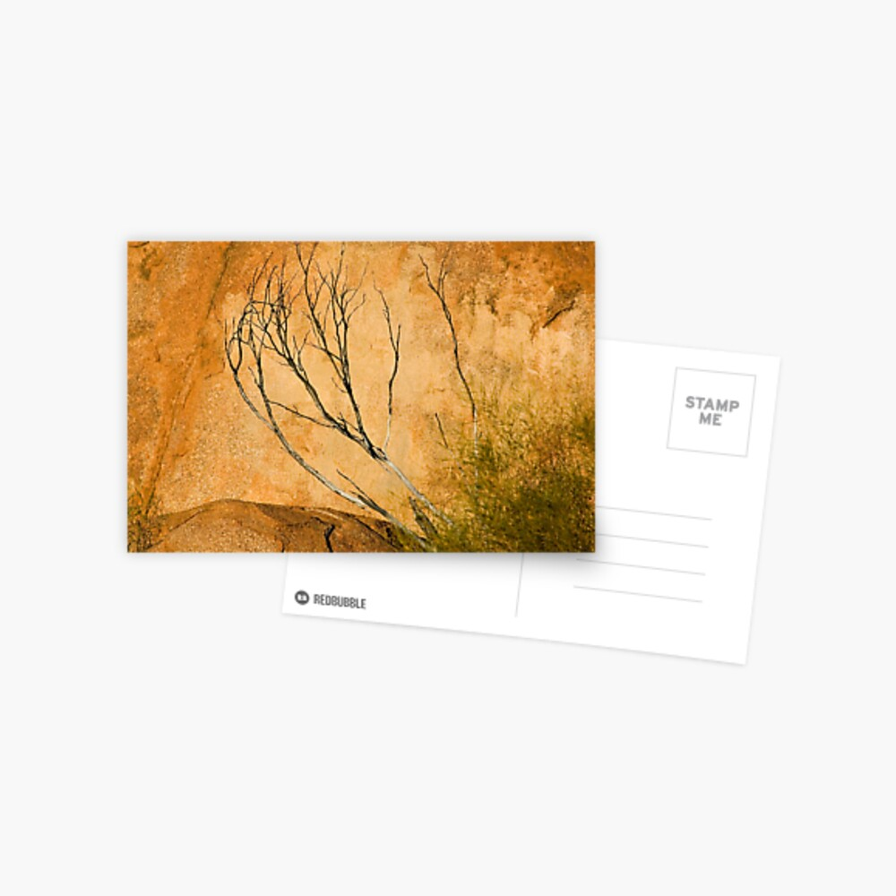 Rock Textures - Devil's Marbles Conservation Reserve Postcard