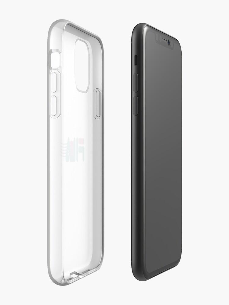 Coque iPhone «sa vapeur, mon frère», par phdesignsgfx