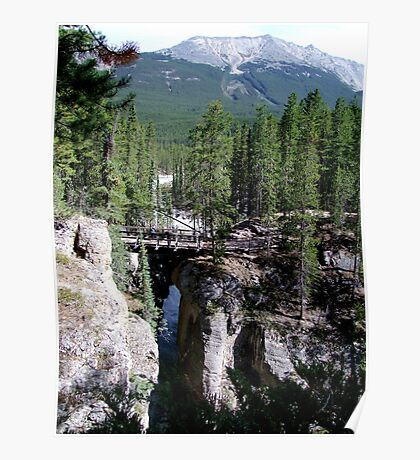 A Wilderness Bridge Poster