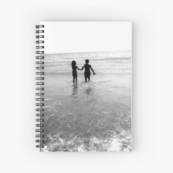 Into the Blue with You  Spiral Notebook