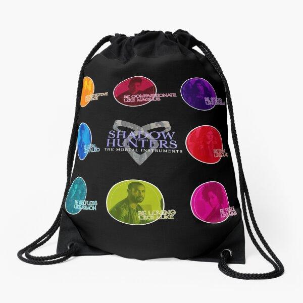 """""""Be _ like _"""" Shadowhunters Characters Drawstring Bag"""
