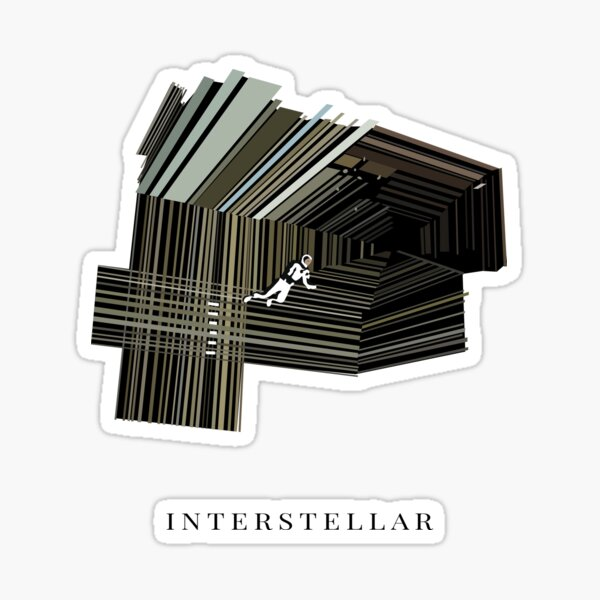 Interstellar Sticker