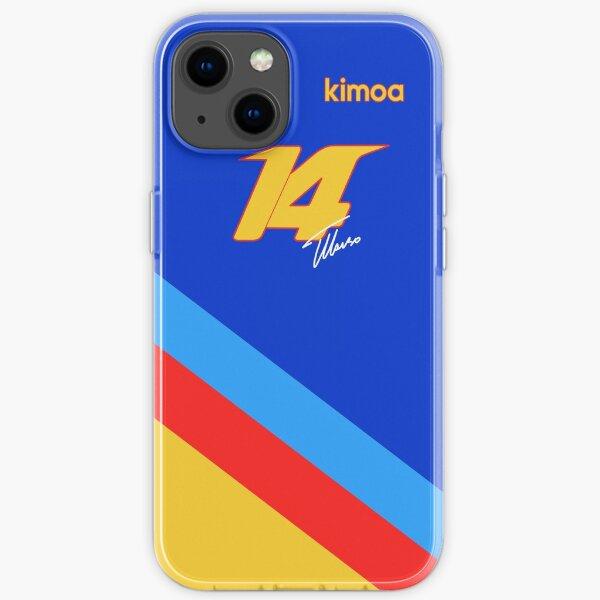 Fernando Alonso # 14 Último GP Edición Especial Funda blanda para iPhone