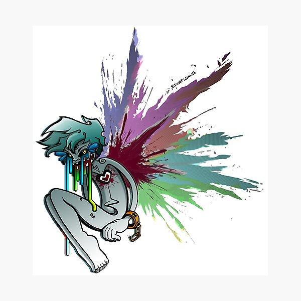 Heartcore Rainbow Photographic Print