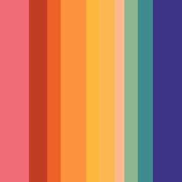 Vertical chromatic stripes by divafern