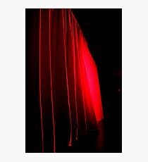 Scarlet Screen Photographic Print