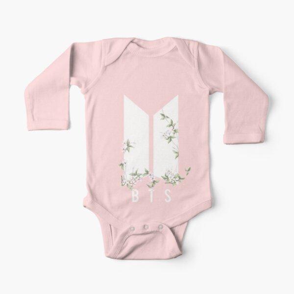 BTS Body de manga larga para bebé