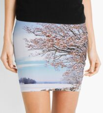 Golden Brown Mini Skirt