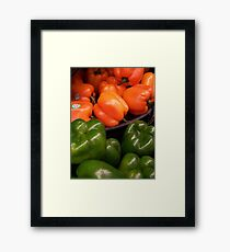 Spicy One Framed Print