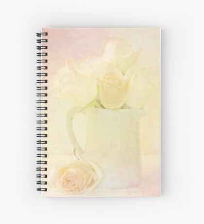 Marshmallow Roses Spiral Notebook