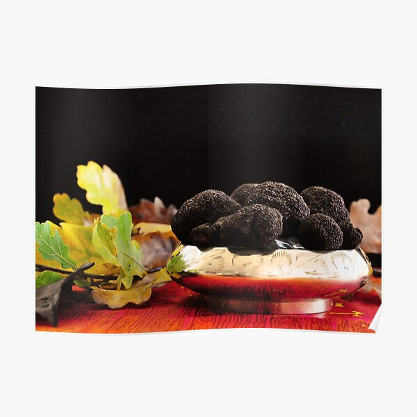 a bowl of truffle Poster