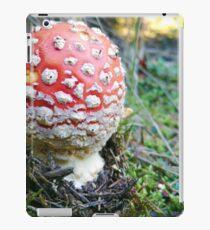 Little red mushroom iPad Case/Skin