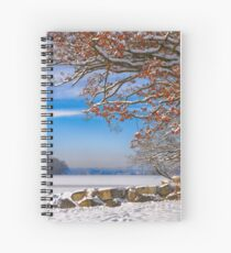 Island across the Lake Spiral Notebook