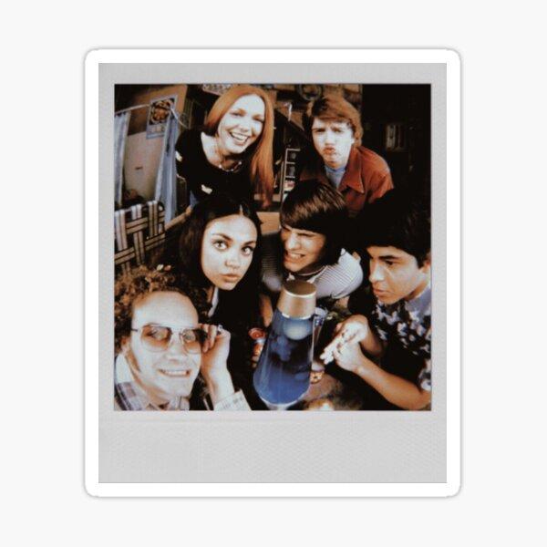 that 70s show polaroid Sticker