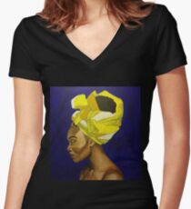The Wrap Life 3 Women's Fitted V-Neck T-Shirt