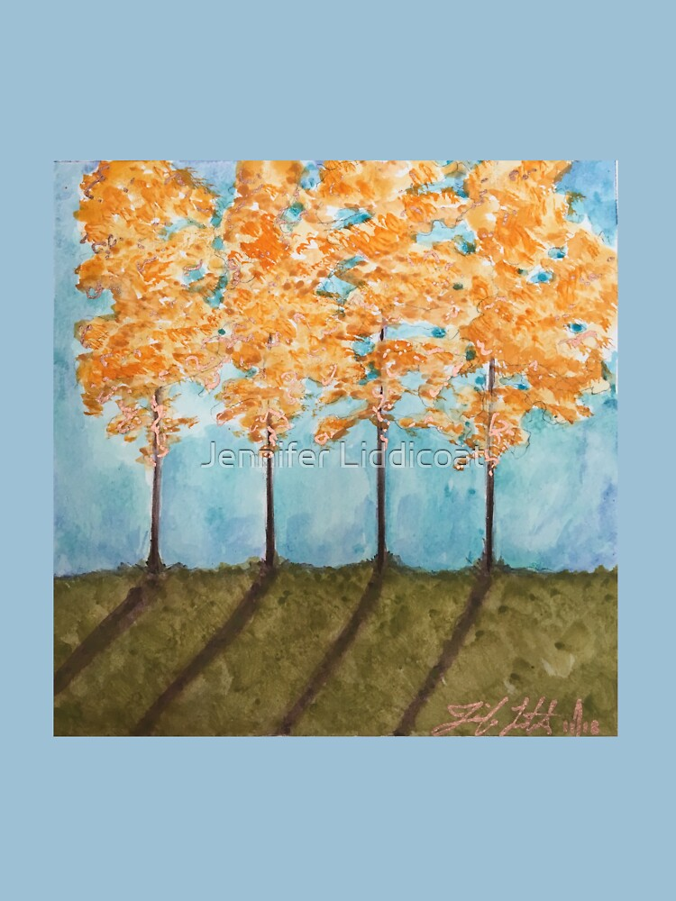 Orange Maples by CrystalShiva