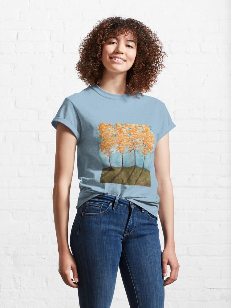 Alternate view of Orange Maples Classic T-Shirt