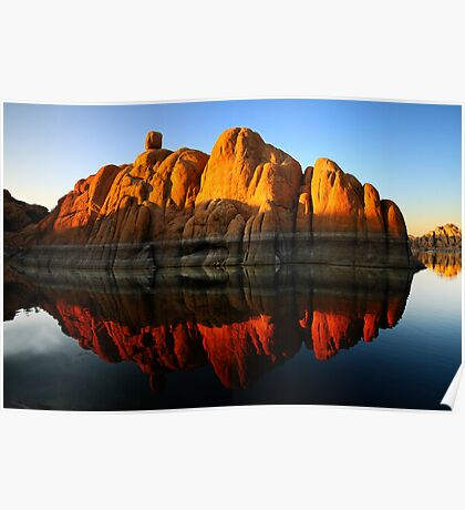 Reflection Rock Poster