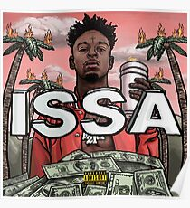 21 Savage Issa Album Poster