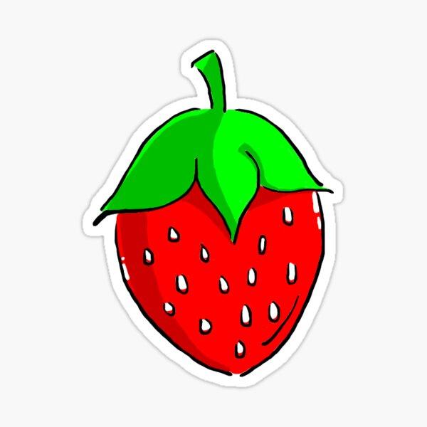 You're a Cute Little Strawberry! Sticker