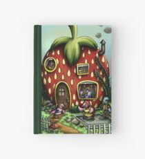 strawberry house Hardcover Journal