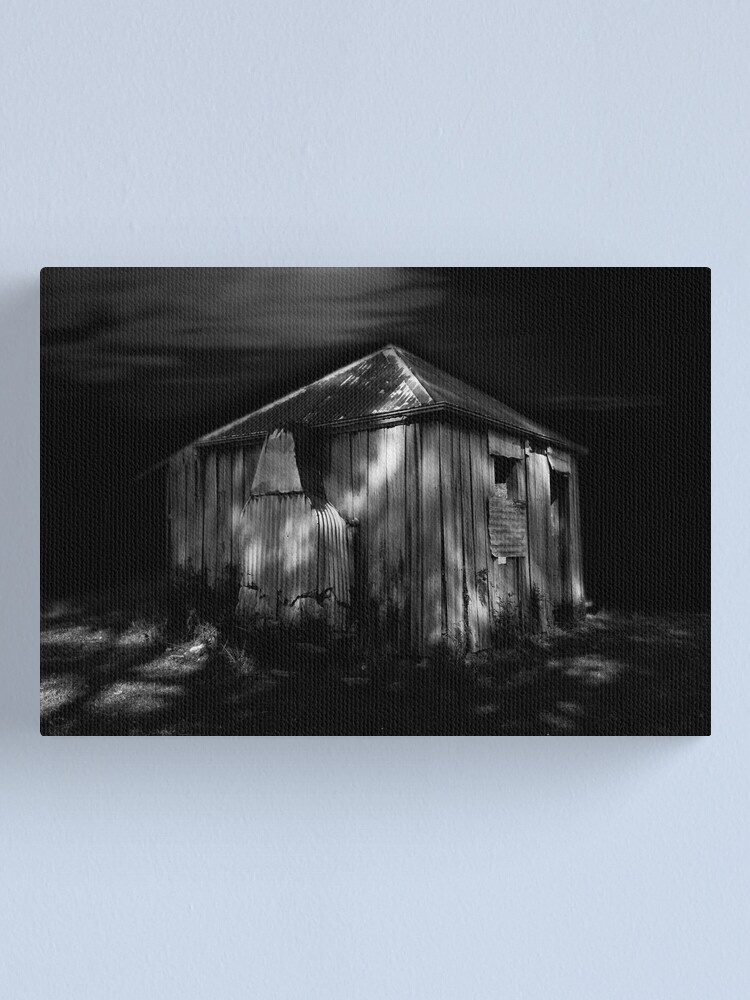 Alternate view of Moon Shack 3 Canvas Print