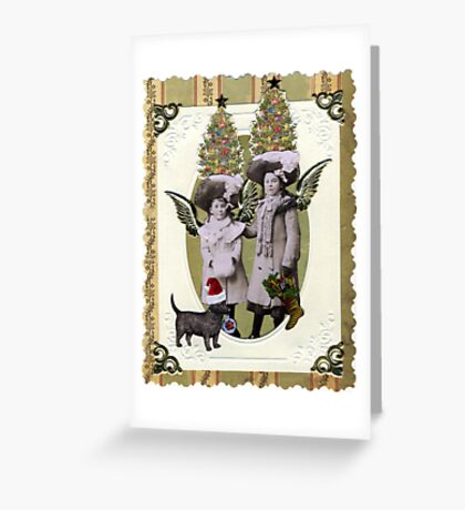 Christmas Hats Greeting Card