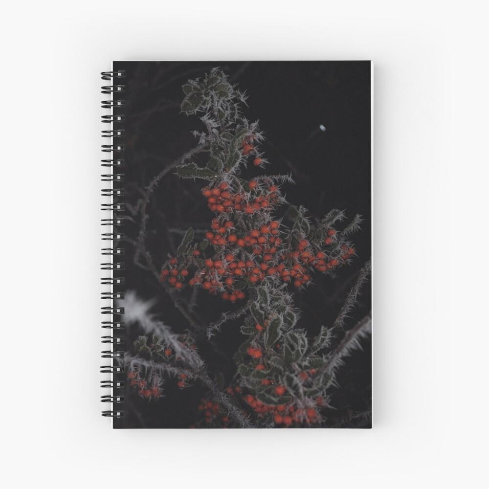 Frozen Berries Spiral Notebook