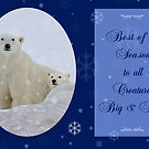 A Happy Holidays to All Creatures Big and Small by Owed To Nature