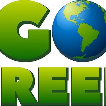 Go Green by portokalis