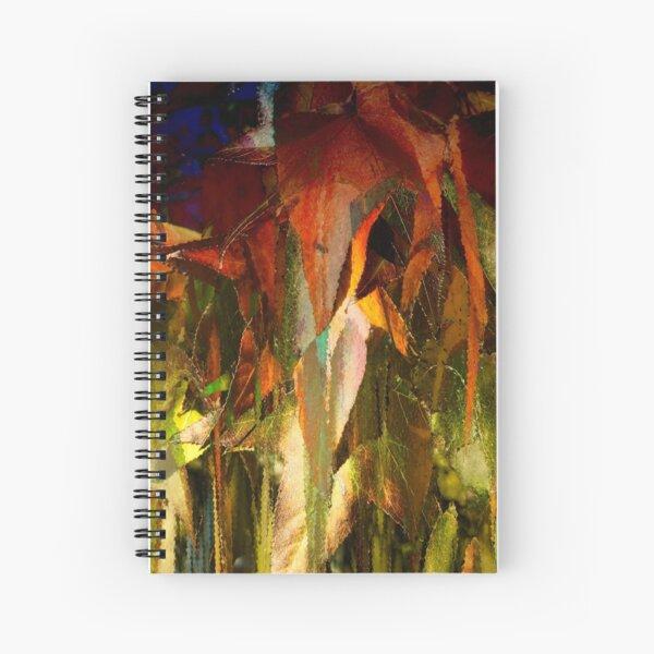 Fall fantasy Spiral Notebook