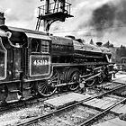 No.45212 Leaving Levisham Station by Trevor Kersley