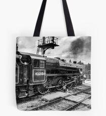 No.45212 Leaving Levisham Station Tote Bag
