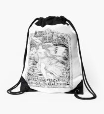 Fairy A - Fairy Tales for Unwanted Children Drawstring Bag