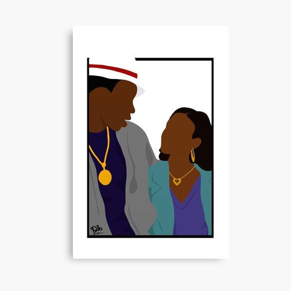 Boring Love Canvas Print