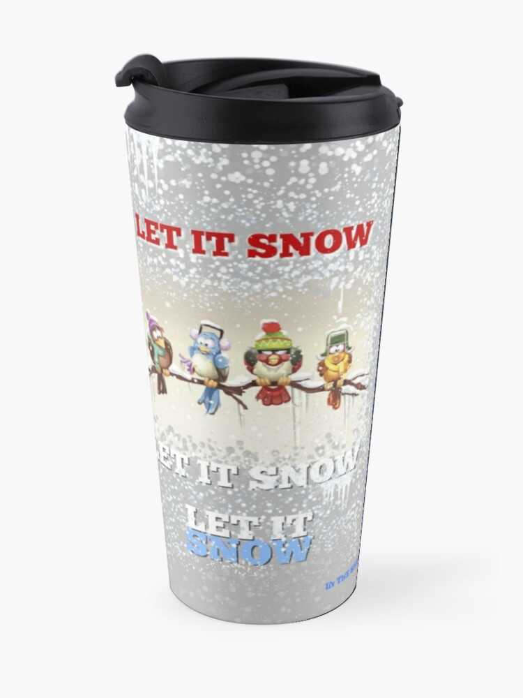 Alternate view of I Love Winter Travel Mug