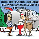 Santa considers an 'upgrade' by Tim Mellish
