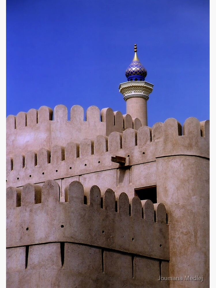 Ramparts of Nizwa by Cedarseed