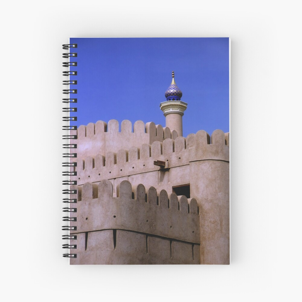 Ramparts of Nizwa Spiral Notebook