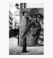 el arte de la calle Photographic Print