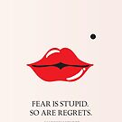 From the lips of Marylin Monroe by Namoh