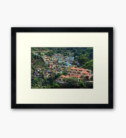 Devprayag City Framed Print