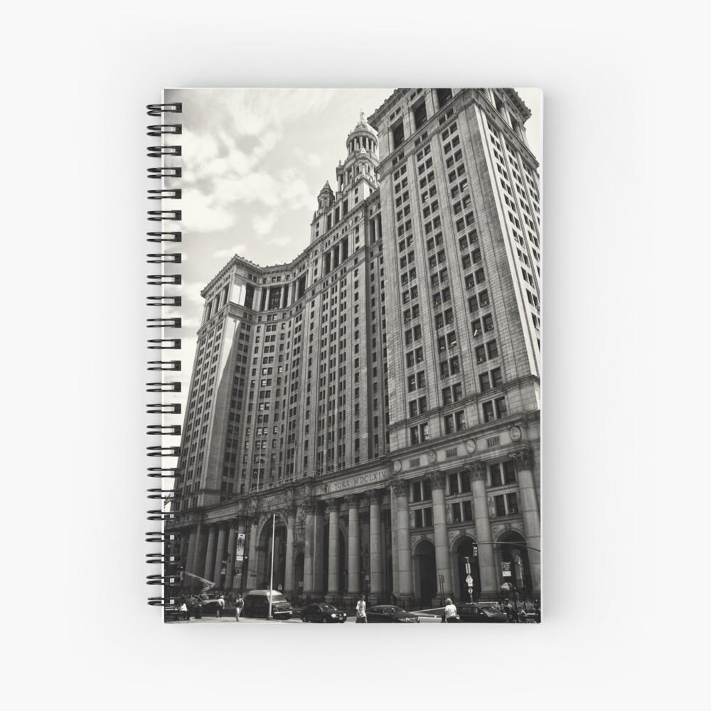 Grand Architecture - New York City Spiral Notebook